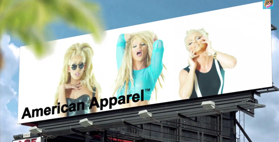 American Apparel billboard