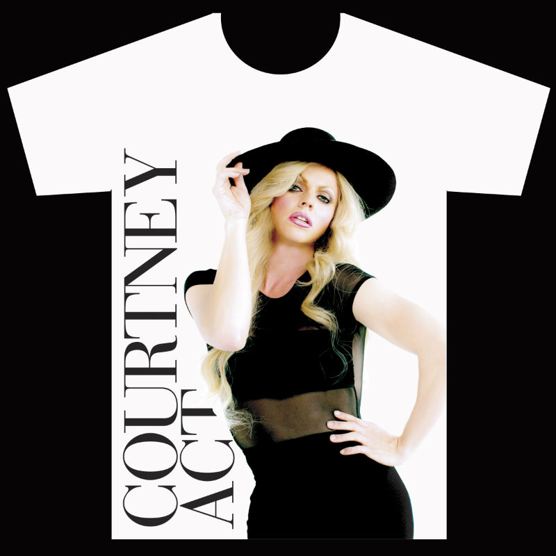 Courtney Act American Apparel Graphic Tee