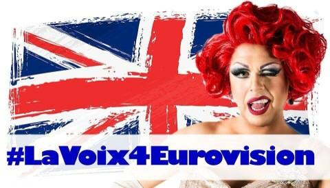 Move Over Conchita: Drag Artist Vying to Represent The UK at Eurovision 2015