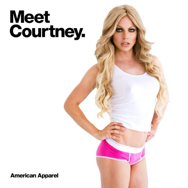 Meet Courtney Act America Apparel