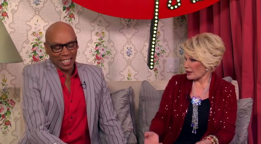 RIP Joan Rivers: Celebrate Her Life and Rewatch RuPaul on 'In Bed With Joan'