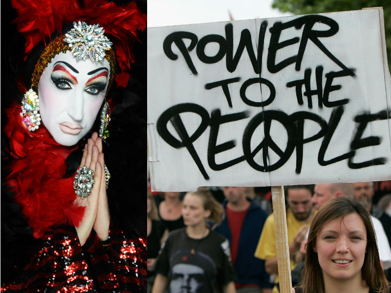 Sister Roma Drag Queen Facebook Protest Real Name Change Guidelines
