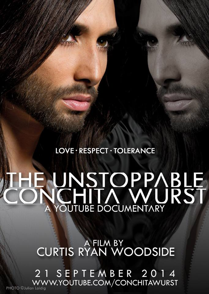 The Unstopable Conchita Wurst  Documentary Poster 03