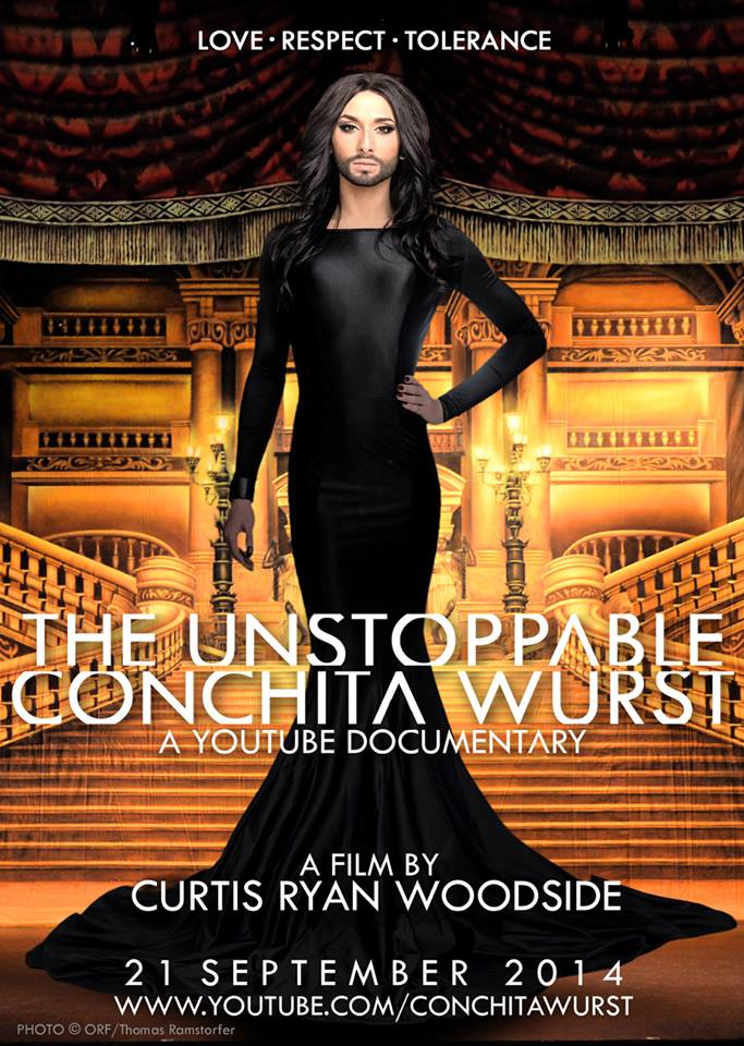 The Unstopable Conchita Wurst  Documentary Poster 04