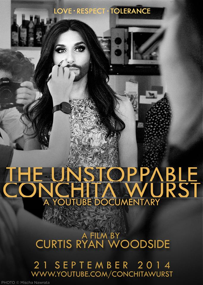 The Unstopable Conchita Wurst  Documentary Poster 05