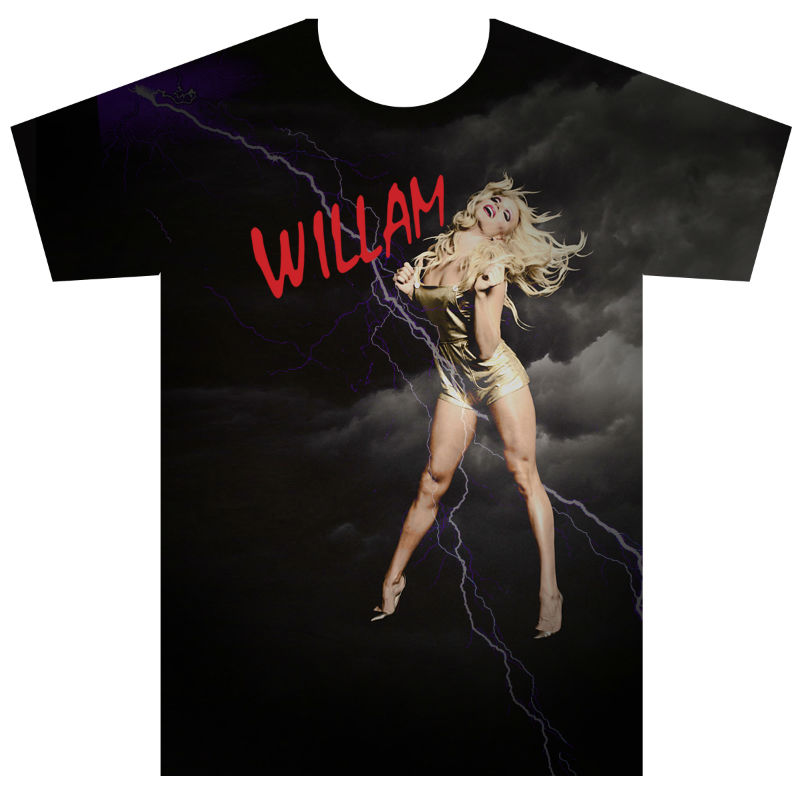 Willam Belli American Apparel Graphic Tee