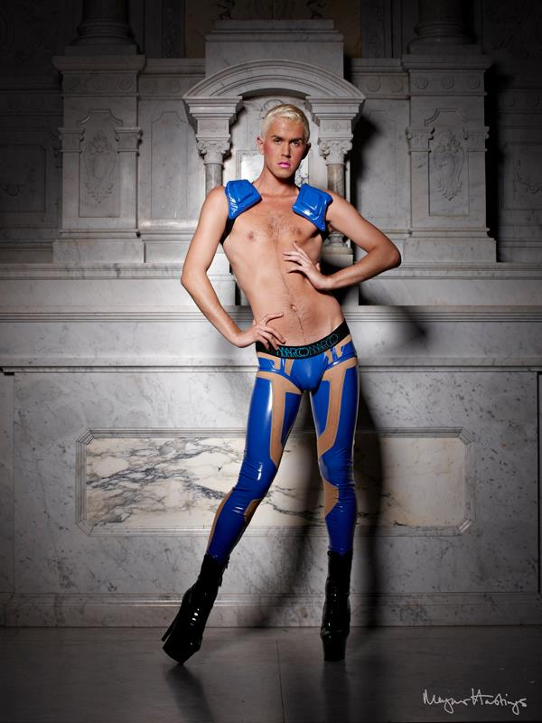 Magnus Hastings Marco Marco Collection Three Runway Presentation Fashion Dragged Around The World Billy Barbie