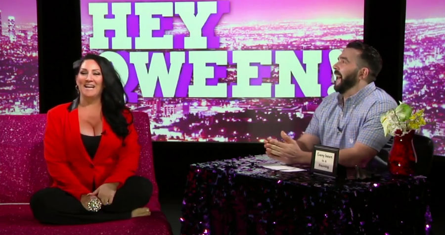 All the Tee, Hunty! Watch: Michelle Visage on 'Hey Qween!'