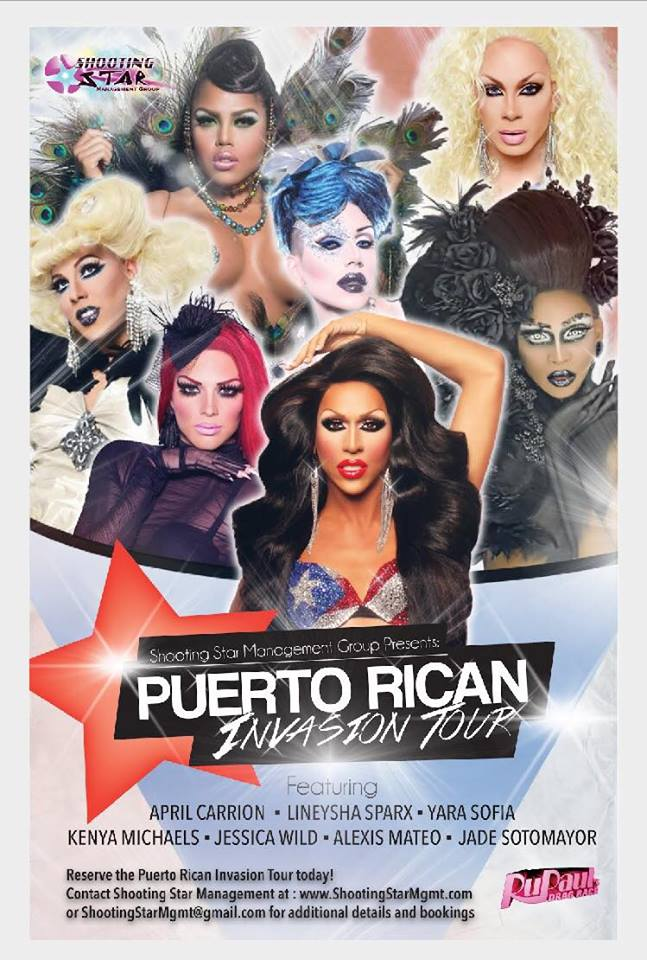 RuPaul's Drag Race Queens Announce 'Puerto Rican Invasion' Tour Kickoff