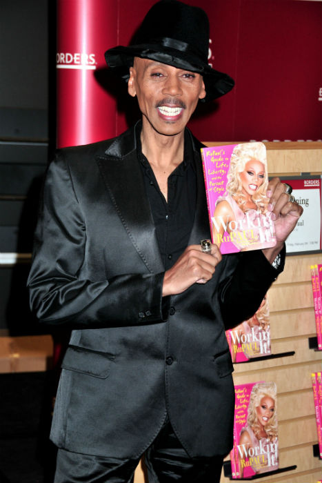 small RuPaul Charles Workin' It! RuPaul's Guide to Life Liberty and the Pursuit of Happiness