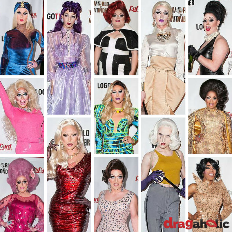 Red Carpet Looks: RuPaul's Drag Race Season 7 Los Angeles Premiere