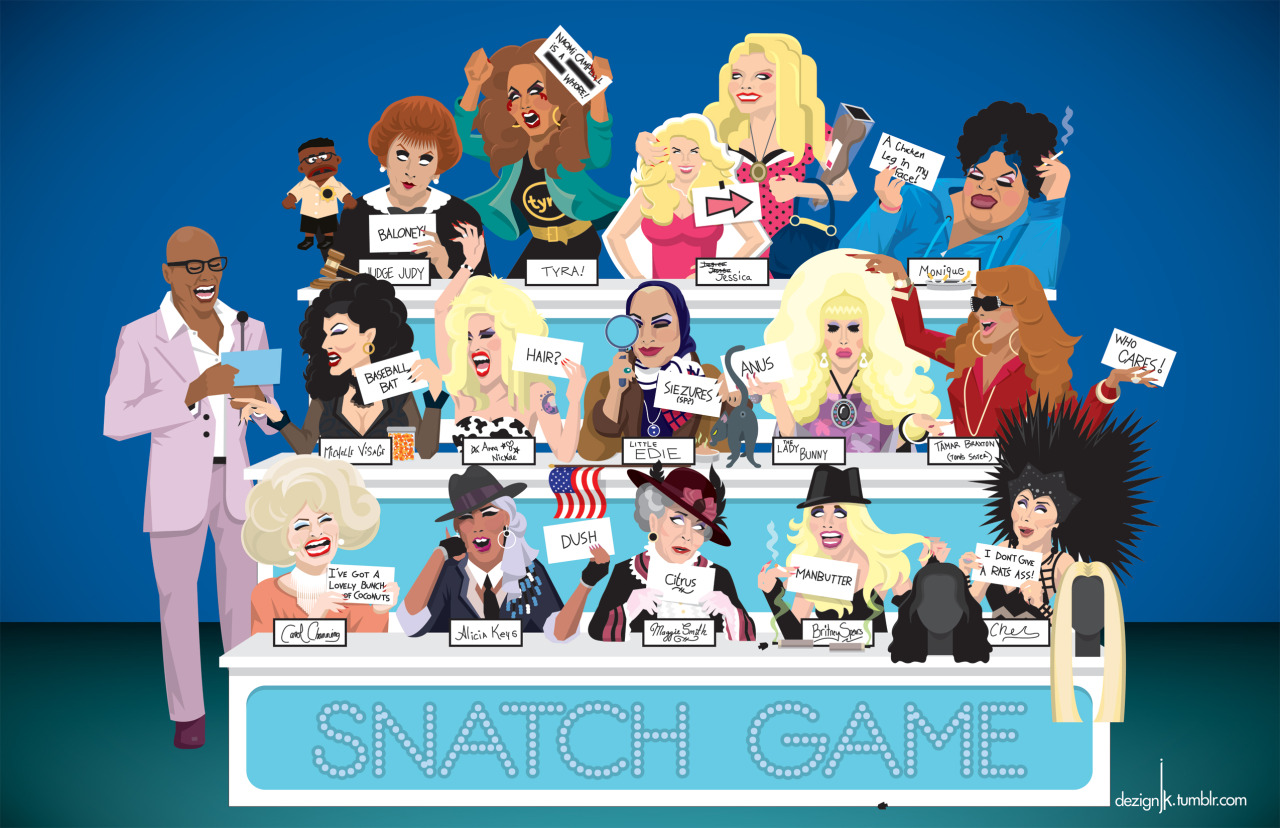 Top 10 RuPaul's Drag Race 'Snatch Game' Characters (So Far)