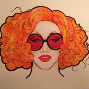 Jinkx Monsoon RuPaul's Drag Race Season 5 Fan Art