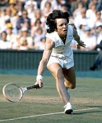 Billie Jean King on HBO
