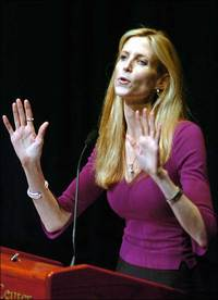 Happy Endings: Ann Coulter Gets Booed
