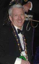 Out There: Anderson Cooper Does Mardi Gras