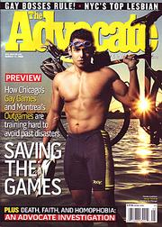 Advocate Gay Games cover