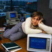 Bill Gates Pin-Up