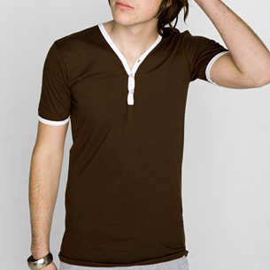 Nice Package: American Apparel Henley Shirt