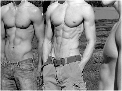 Abercrombie and Fitch men Spring 2006 nude