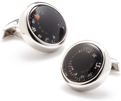 Nice Package: Thermometer Cufflinks