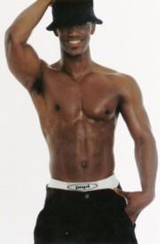 Darryl Stephen shirtless