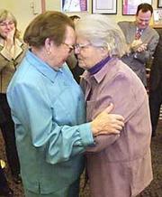 elderly gay women