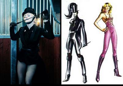 Gaultier's Madonna Sketches