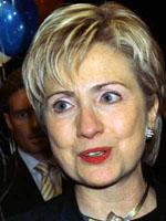 Hillary Rodham Clinton face