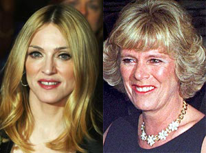Madonna and Camilla Parker Bowles
