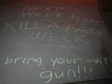 Anti-Gay Graffiti On Michigan College Campus