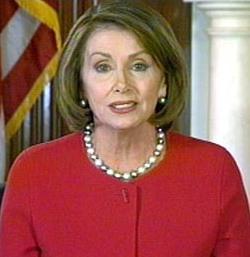 Nancy Pelosi Takes A Position