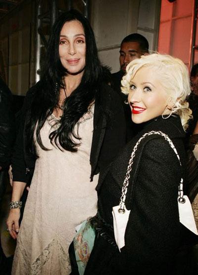 Cher and Xtina Both Enjoy Garish Underwear