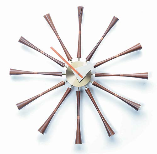 Shop: George Nelson Spindle Clock